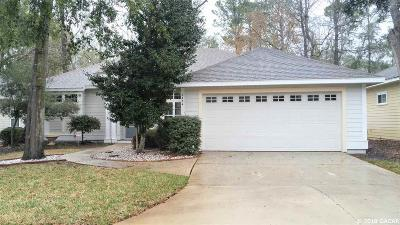 Gainesville Single Family Home For Sale: 8434 SW 8th Place