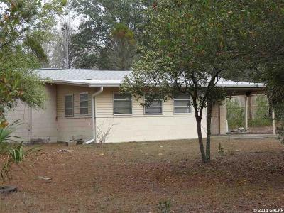 Williston FL Single Family Home For Sale: $32,000