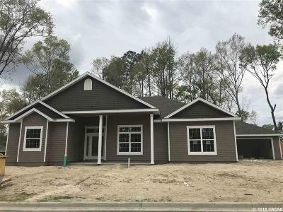 Alachua Single Family Home For Sale: 16774 NW 167th Street