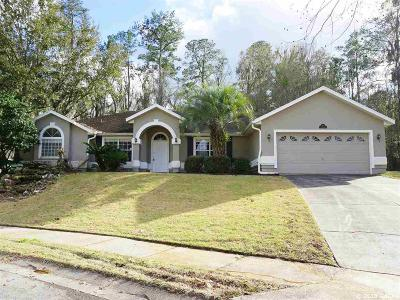 Gainesville Single Family Home For Sale: 8819 NW 9th Place