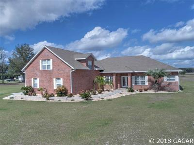Newberry Single Family Home For Sale: 7510 SE County Road 232