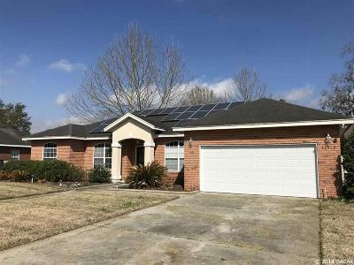 Gainesville Single Family Home For Sale: 11914 NW 10th Road