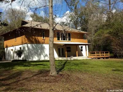 Alachua Single Family Home For Sale: 27109 NW County Road 241