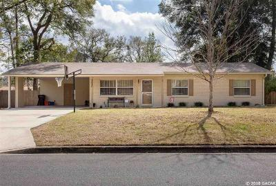 Gainesville Single Family Home For Sale: 3537 NW 52ND Avenue