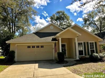 Gainesville Single Family Home For Sale: 2421 SW 98th Drive