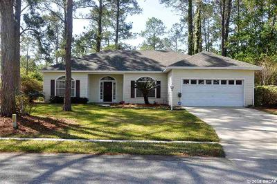 Alachua Single Family Home For Sale: 6017 NW 115 Place