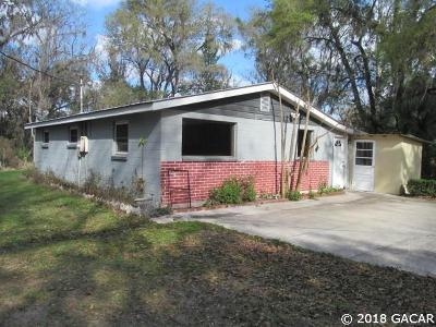 Micanopy Single Family Home For Sale: 12221 S US Highway 441