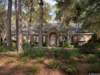 Gainesville Single Family Home For Sale: 8841 SW 45TH Boulevard