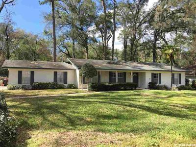 Gainesville Single Family Home For Sale: 2110 NW 58th Terrace