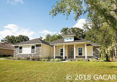 Alachua Single Family Home For Sale: 14856 NW 149th Road