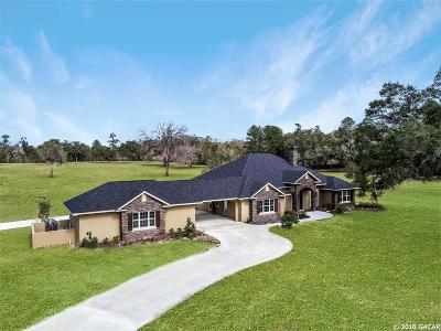Ocala Single Family Home For Sale: 12203 NW 35th Street