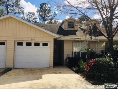 Alachua Condo/Townhouse For Sale: 6405 NW 106 Place
