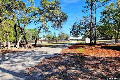 Dunnellon Single Family Home For Sale: 7005 W Adirondack Street