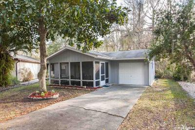 Gainesville Single Family Home For Sale: 8620 NW 13th Street #165