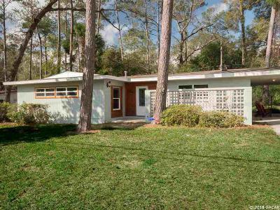 Gainesville Single Family Home For Sale: 1114 NW 34th Street