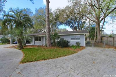 Gainesville Single Family Home For Sale: 3426 NW 34th Street