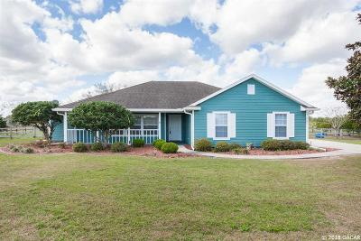 Gainesville Single Family Home For Sale: 9506 SW 102ND Terrace