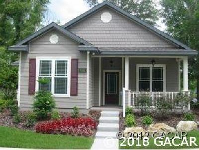 Gainesville Single Family Home For Sale: 2734 SW 120th Drive