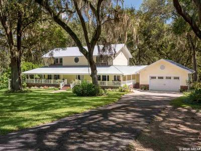 Alachua Single Family Home For Sale: 11217 NW 115th Terrace