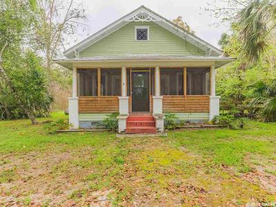 Micanopy Single Family Home For Sale: 202 NW 2 Avenue