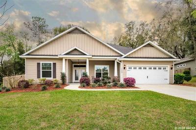 Alachua Single Family Home For Sale: 14809 NW 149th Place