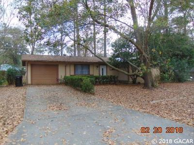 Gainesville FL Single Family Home For Sale: $119,900