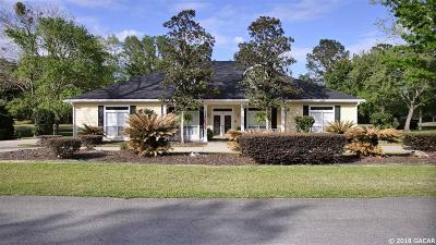 Alachua Single Family Home For Sale: 11621 NW 72nd Terrace