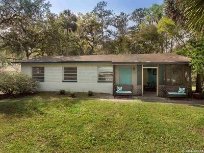 Micanopy Single Family Home For Sale: 108 NE Evans Court