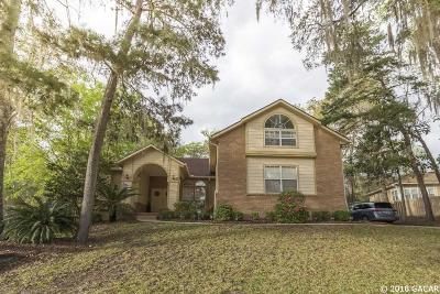 Gainesville Single Family Home For Sale: 5326 NW 78th Lane