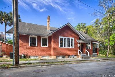 Gainesville Single Family Home For Sale: 416 NE 3rd Avenue