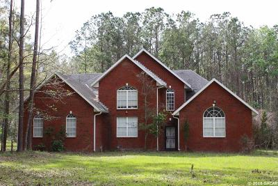 Gainesville Single Family Home For Sale: 3554 NW 63rd Street