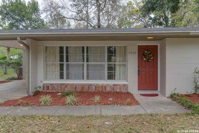Gainesville Single Family Home For Sale: 3238 NW 52ND Place