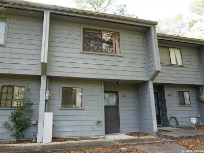 Gainesville Condo/Townhouse For Sale: 3081 NW 28th Circle