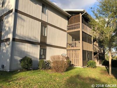Gainesville Condo/Townhouse For Sale: 6519 W Newberry Road #706
