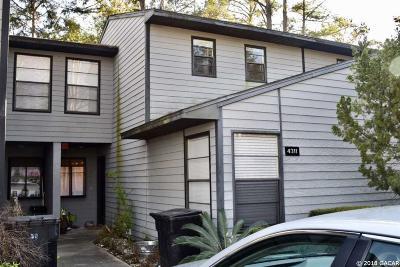 Gainesville Condo/Townhouse For Sale: 4311 SW 21 Lane