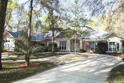 Gainesville Single Family Home For Sale: 10623 SW 41st Place