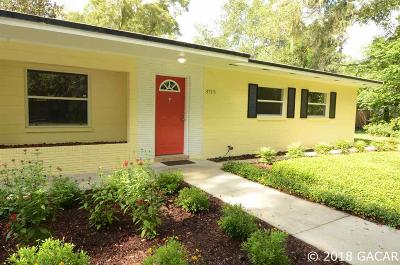 Gainesville Single Family Home For Sale: 3715 NW 20th Place