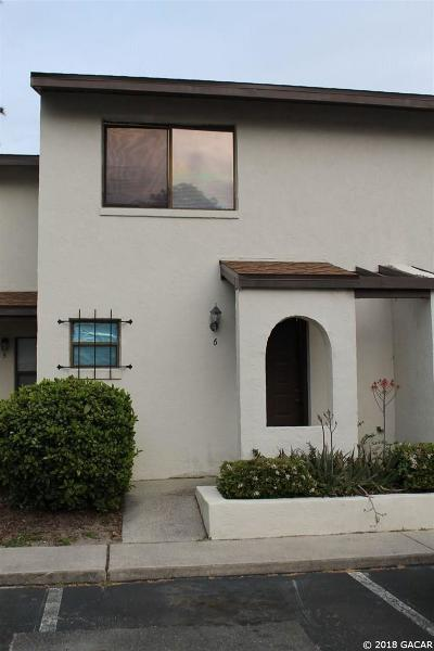 Gainesville Condo/Townhouse For Sale: 2635 SW 35TH Place #1906