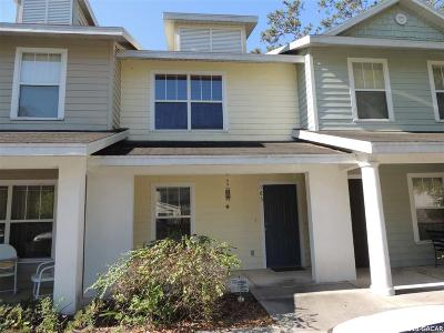 Gainesville Condo/Townhouse For Sale: 2362 SW 42nd Drive #165