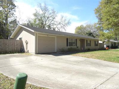 Gainesville Single Family Home For Sale: 2541 NW 52nd Place