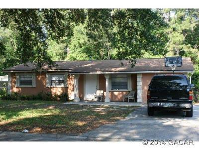 Gainesville Single Family Home For Sale: 3826 NE 11th Terrace