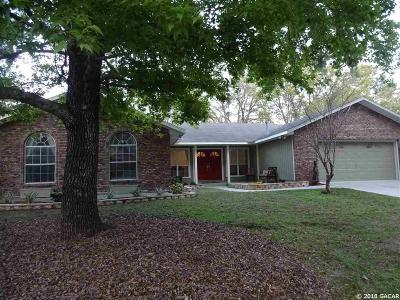 Gainesville Single Family Home For Sale: 2825 NW 27th Terrace