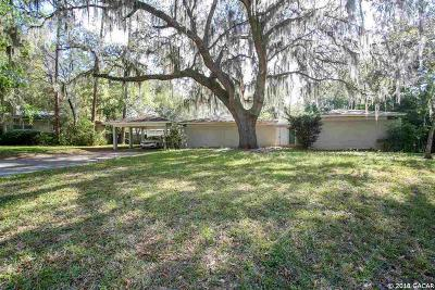 Gainesville Single Family Home For Sale: 1805 NW 22ND Street