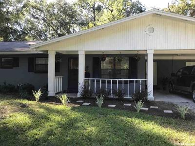 Gainesville Single Family Home For Sale: 6512 NW 77TH Street
