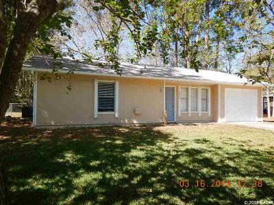 Gainesville Single Family Home For Sale: 6022 NW 27TH Street