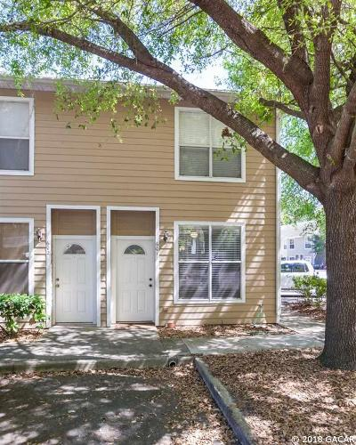 Gainesville Condo/Townhouse For Sale: 4415 SW 34TH Street #601