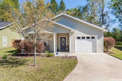 Gainesville Single Family Home For Sale: 7843 NW 20th Drive