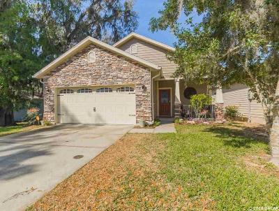 Gainesville Single Family Home For Sale: 1542 NW 120th Way