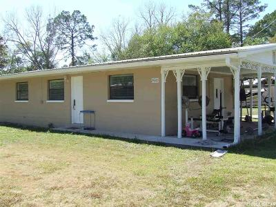 High Springs Single Family Home For Sale: 24307 NW 174th Avenue