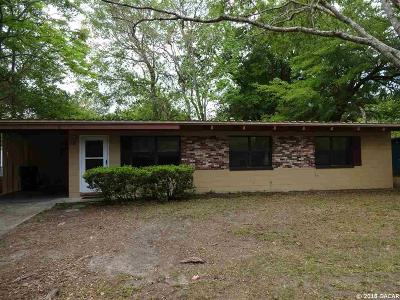 Gainesville FL Single Family Home For Sale: $129,900